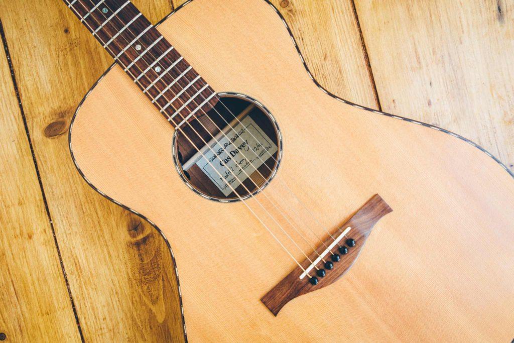 Cas Davey guitars