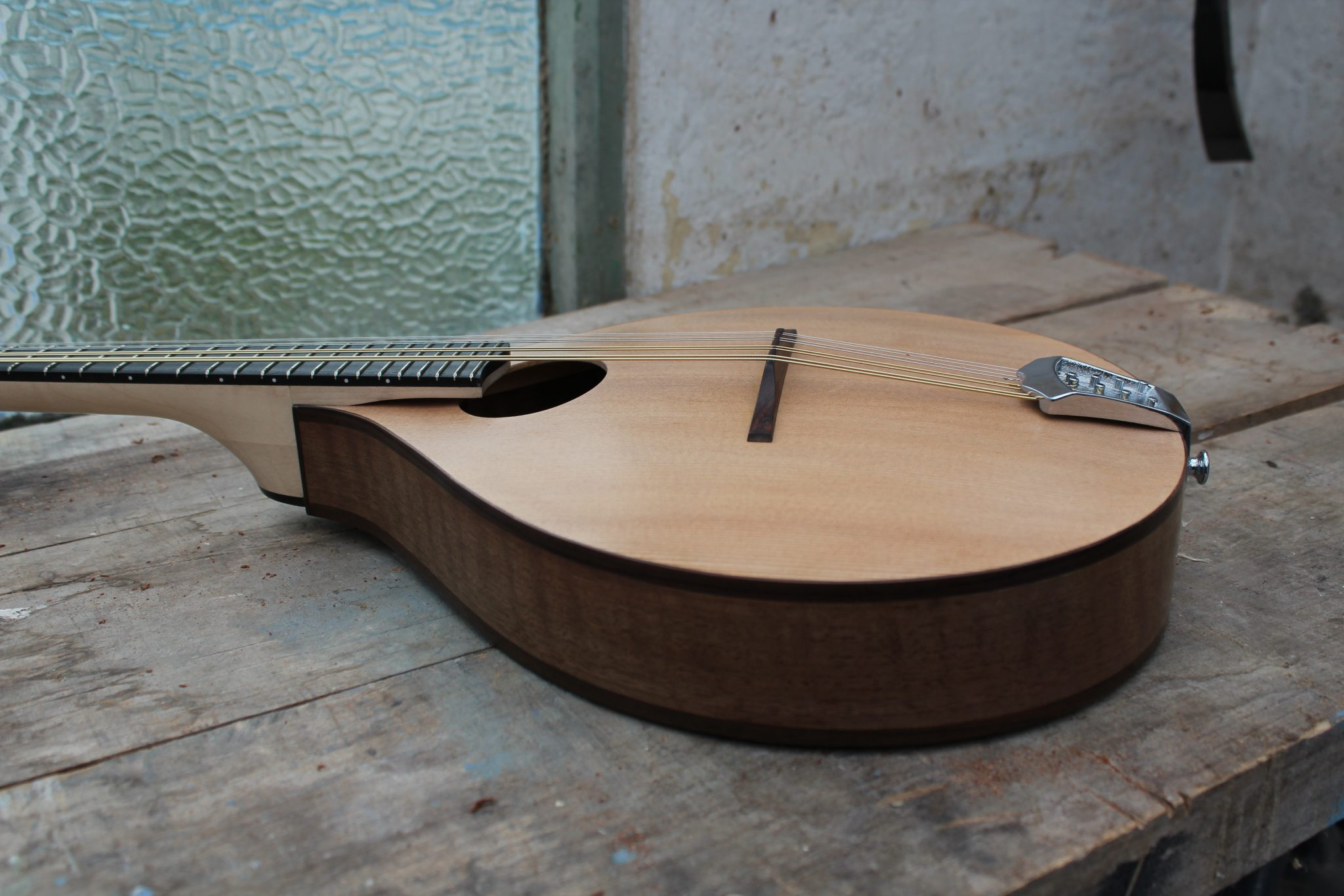 Archtop Walnut Mandolin