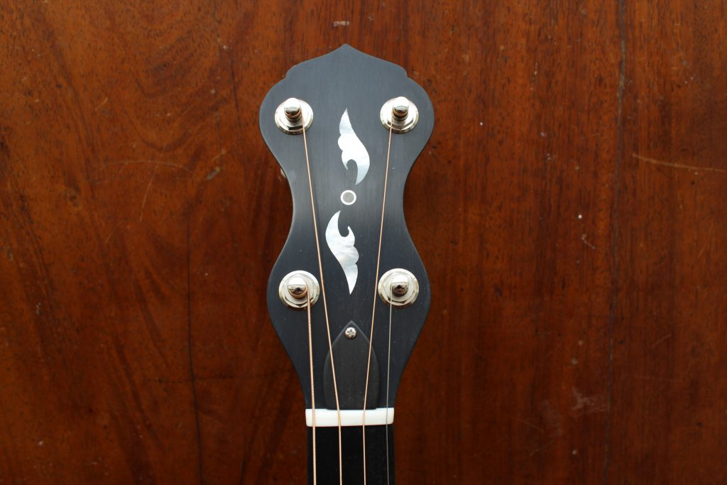 Davey Tenor Banjo headstock
