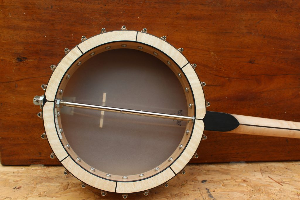 open back tenor banjo
